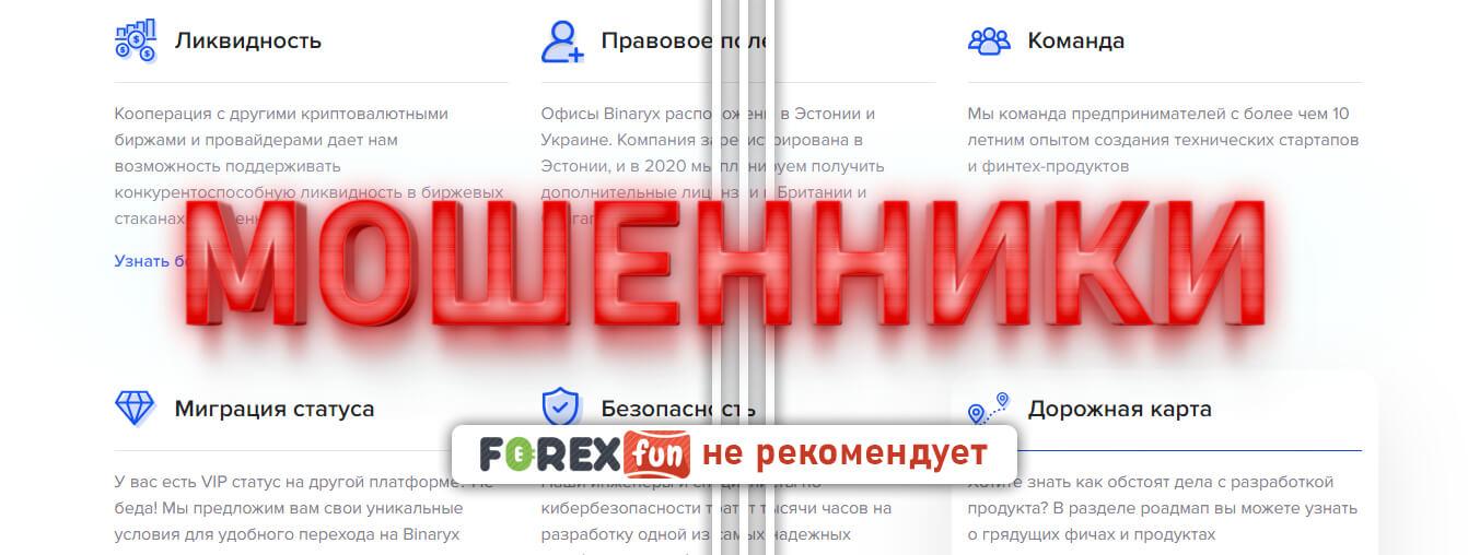 binaryx.com отзывы