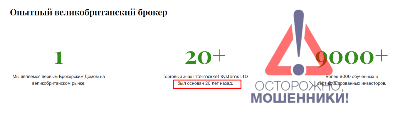 CFD-брокер Intermarket Systems: отзывы и особенности компании